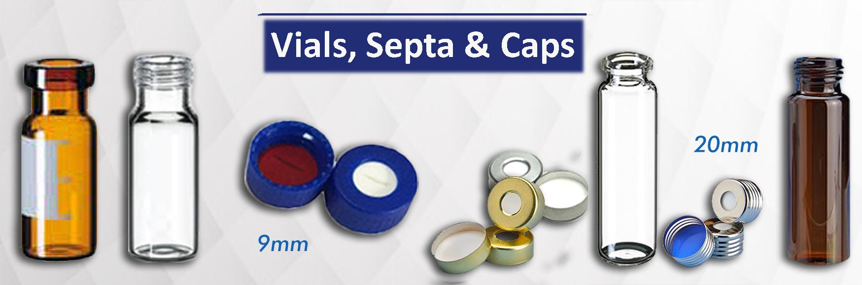Vials, Septa & Caps